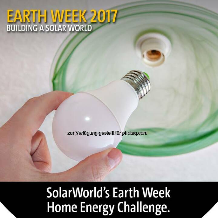 There are many ways you can save energy and conserve resources. #SolarWorld challenges you to share actions that you have taken to save #energy at home. Let us know in the comments your favorite ways to protect resources and be kind to the #planet. #EarthDay #EarthDay2017 #EarthDayEveryDay #GoSolar #EarthWeek #EarthWeek2017  Source: http://facebook.com/SolarWorldUSA
