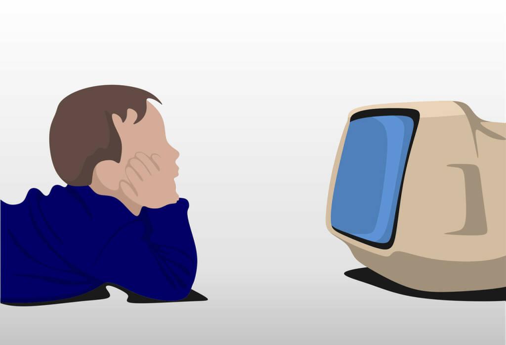 Fernsehen, Streamen, Netflix (Bild: Pixabay/ROverhate https://pixabay.com/de/beobachten-tv-kind-fernsehen-home-2082788/ ) (19.04.2017)