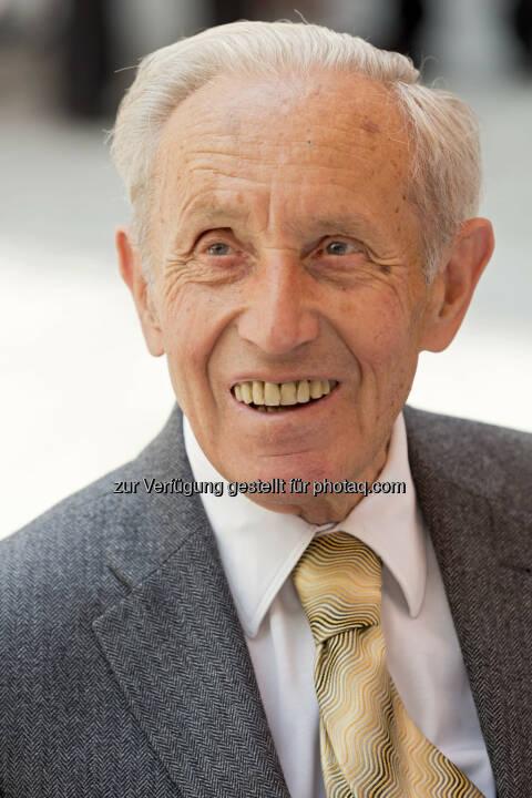 Dr. Carl Manner (Aufsichtsratsvorsitzender und Enkel des Firmengründers Manner) verstorben - Josef Manner u. Comp. AG: Dr. Carl Manner verstorben (Fotocredit: Manner/Noll)