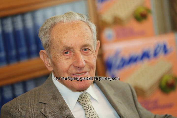Dr. Carl Manner verstorben - Josef Manner u. Comp. AG: Dr. Carl Manner verstorben (Fotocredit: Manner/Noll)