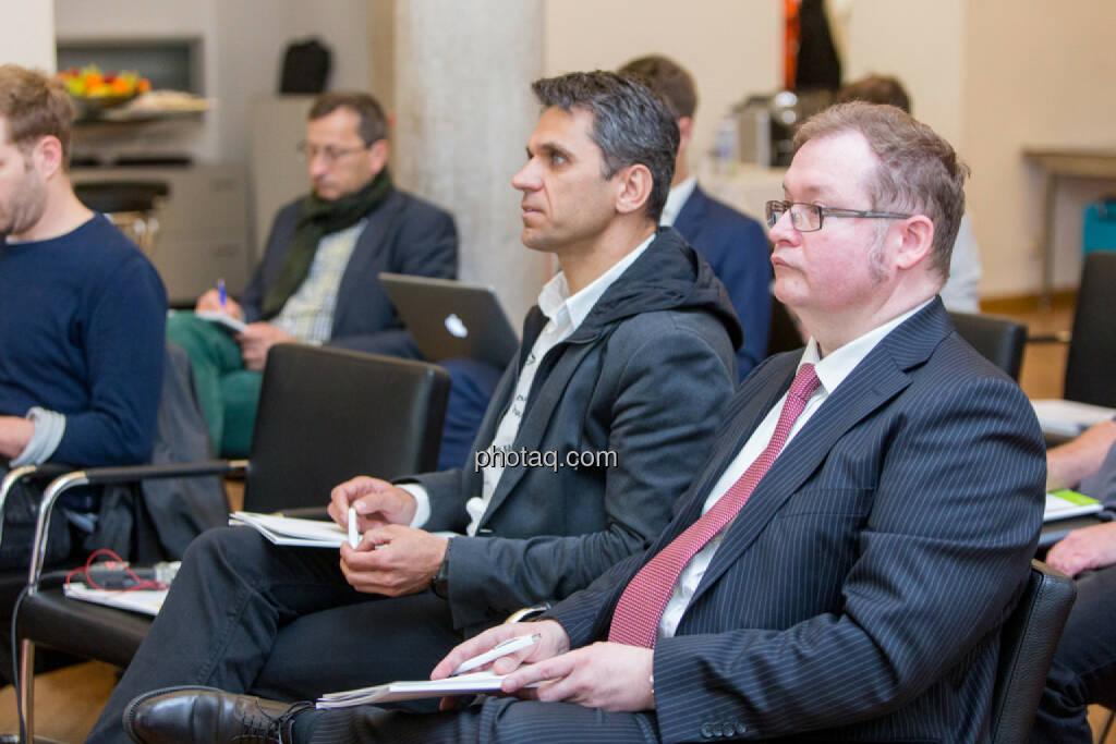 Michael Altrichter (Investor), Gregor Rosinger (Rosinger Group, Investor), © Martina Draper/photaq (20.04.2017)