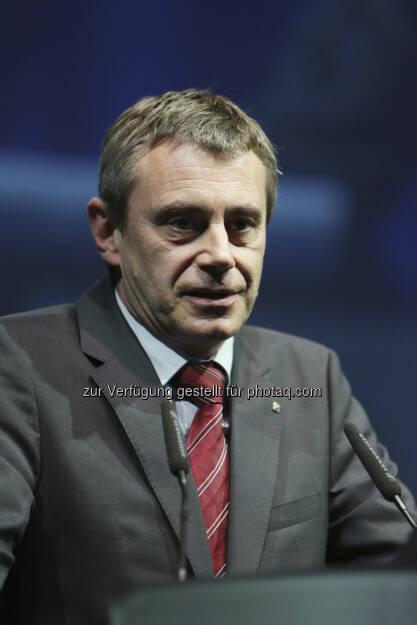 Heinrich Schaller (Raiffeisenlandesbank OÖ-Generaldirektor), (Foto: RLB OÖ/Strobl), © RLB OÖ/Strobl (15.05.2013)