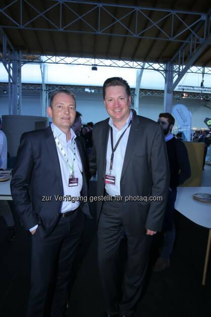 Marcus Grausam (A1) & Michael Stix, ©  ProSiebenSat.1 Puls4 (25.04.2017)