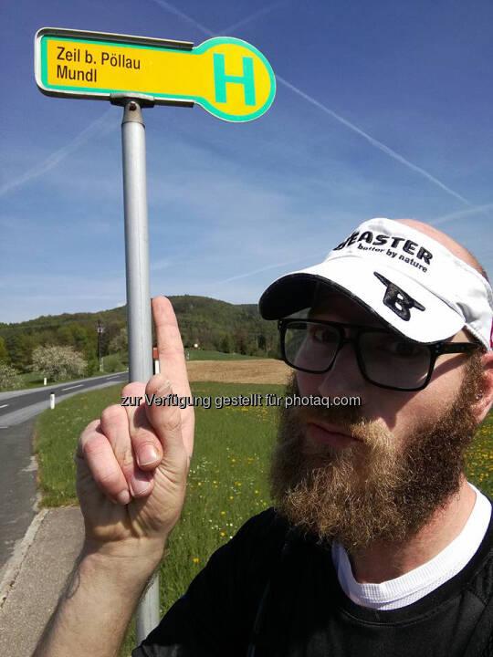 Tino Griesbach, Bushaltestelle, Haltestelle