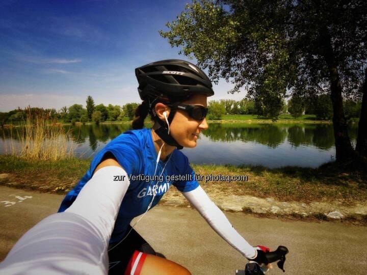 Monika Kalbacher, Radfahren