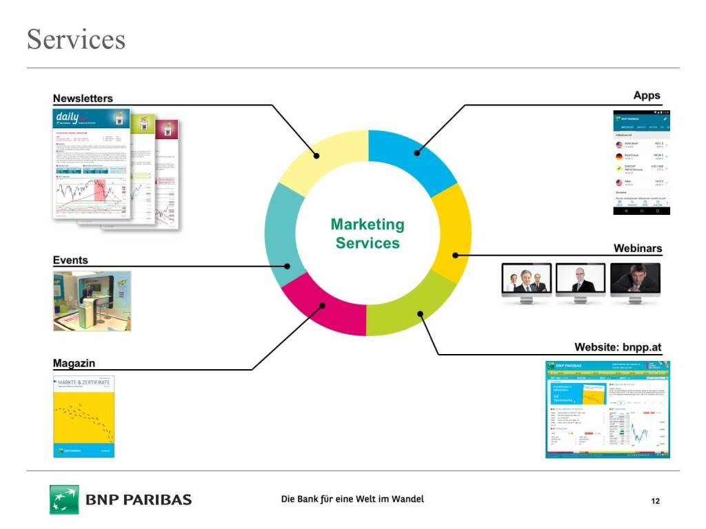 Präsentation BNP Paribas - Services (26.04.2017)