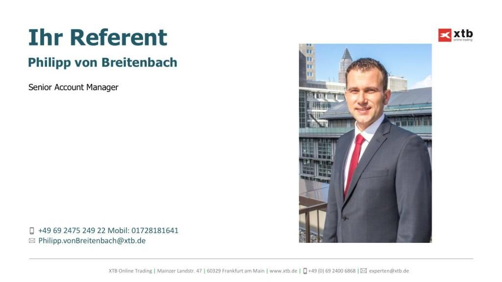Präsentation xtb online trading - Philipp von Breitenbach (26.04.2017)