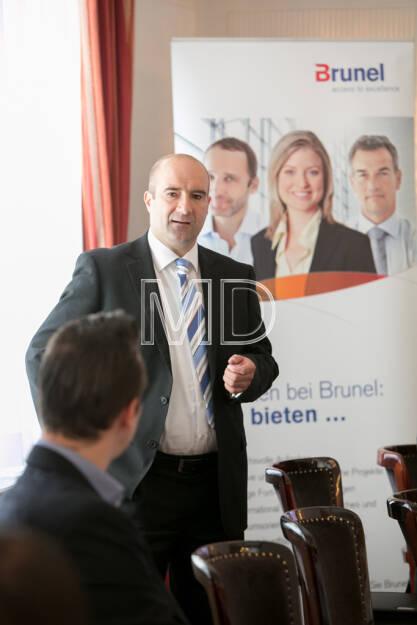 Harald Kuchelbacher (Geschäftsbereichsleiter Österreich), © Martina Draper für Brunel (15.05.2013)