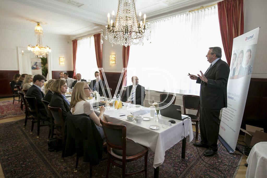 Erich Laminger (Geschäftsführer Great Place to Work® Österreich), © Martina Draper für Brunel (15.05.2013)