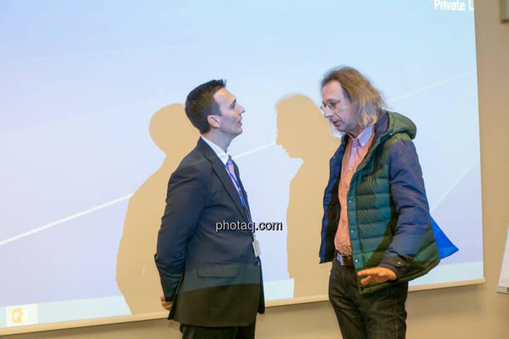 Nikolaos Antonakakis (Webster University) im Gespräch
