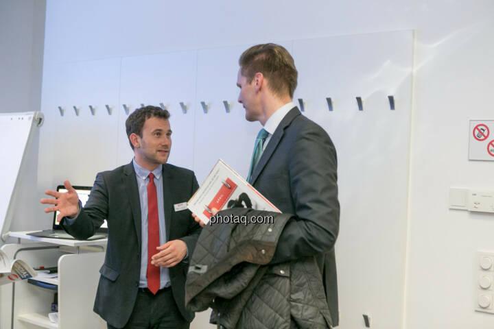Philipp von Breitenbach (xtb), Florian Helmberger (Hello bank!)