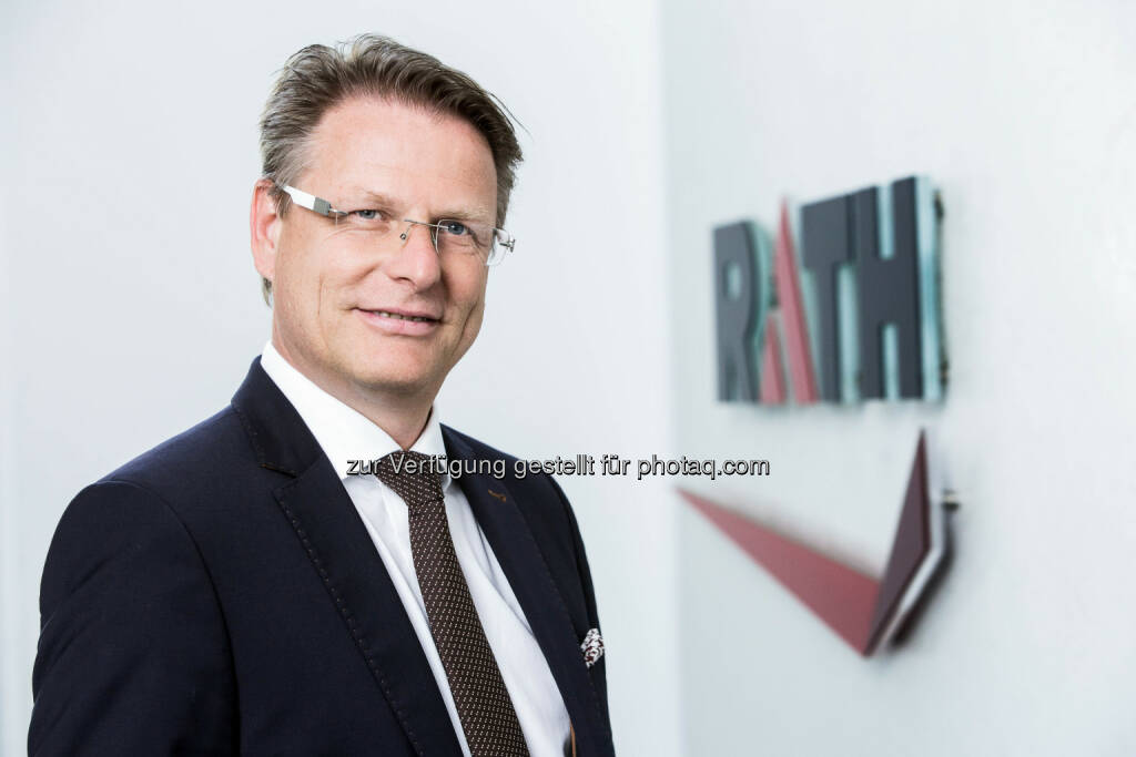 Andreas Pfneiszl, CFO, CSO der Rath AG (Fotocredit: Rath AG), © Aussender (27.04.2017)
