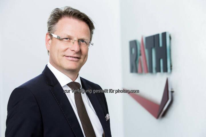 Andreas Pfneiszl, CFO, CSO der Rath AG (Fotocredit: Rath AG)