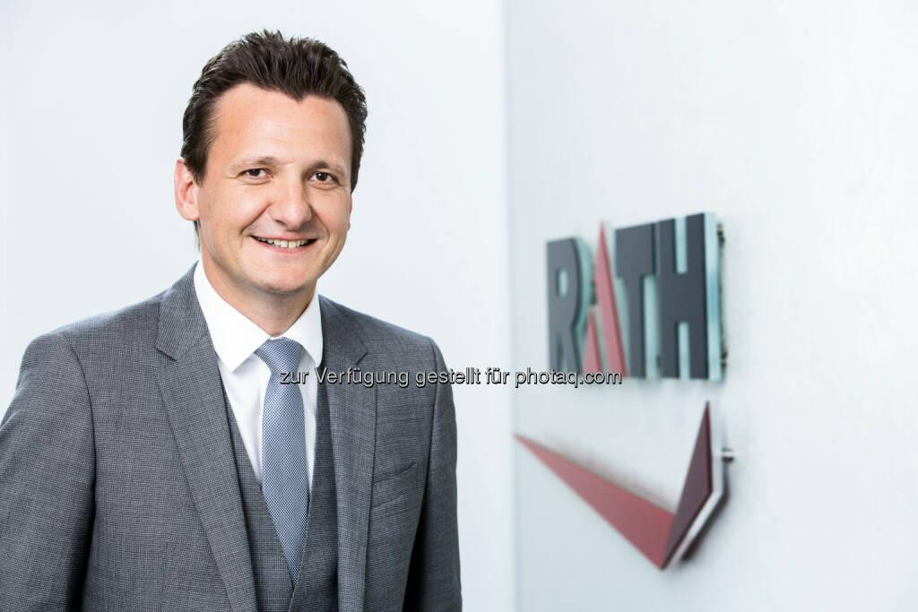 Jörg Sitzenfrey, COO der Rath AG (Fotocredit: Rath AG), © Aussender (27.04.2017)