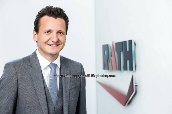 Jörg Sitzenfrey, COO der Rath AG (Fotocredit: Rath AG)