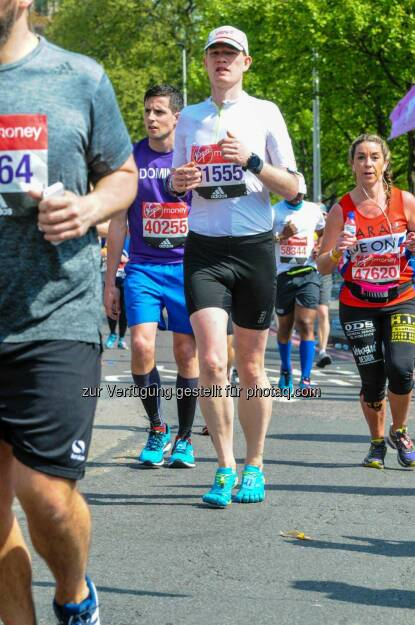 Ulrich Stürzlinger beim Virgin Money London Marathon, © Aussendung (28.04.2017)