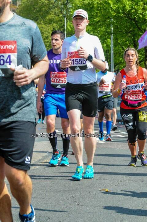Ulrich Stürzlinger beim Virgin Money London Marathon