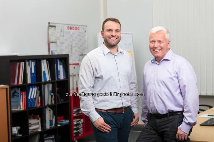 Jörn Greschner und Bernhard Deppe - ANECON Software Design und Beratung G.m.b.H.: ANECON Deutschland stellt sich neu auf (Fotograf: Photographer: Markus Kaiser, Graz / Fotocredit: ANECON)
