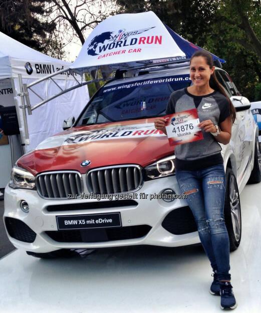 Monika Kalbacher, Wings for Life Worldrun (07.05.2017)