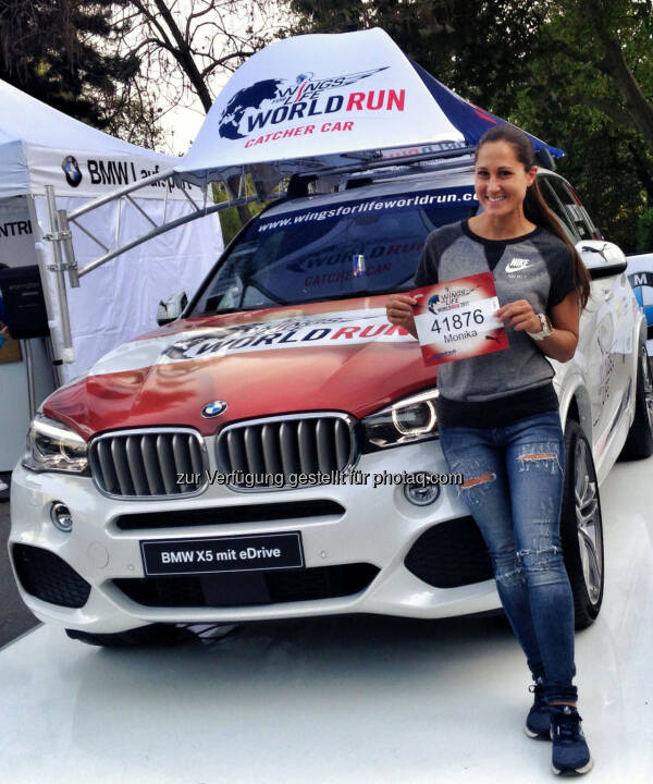 Monika Kalbacher, Wings for Life Worldrun