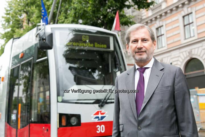 EU-Kommissar Johannes Hahn - Vertretung der EU-Kommission in Österreich: Österreich feiert den Europatag 2017 (Fotocredit: Vertretung der EU-Kommission in Österreich/APA-Fotoservice/Rastegar)