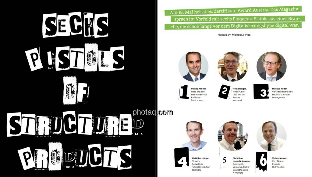 Sechs Pistols of Structured Products - Börse Social Magazine #04 (11.05.2017)