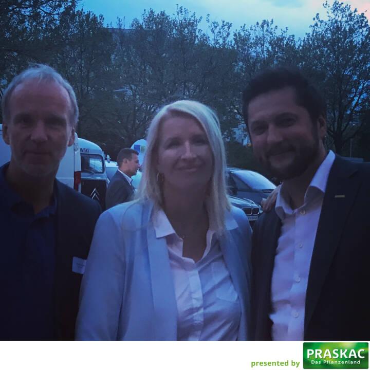 Mit Claudia Stöckl und Damien Izdebski