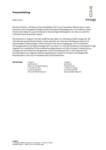 Innogy Zahlen Q1/2017, Seite 3/5, komplettes Dokument unter http://boerse-social.com/static/uploads/file_2249_innogy_zahlen_q12017.pdf (12.05.2017)