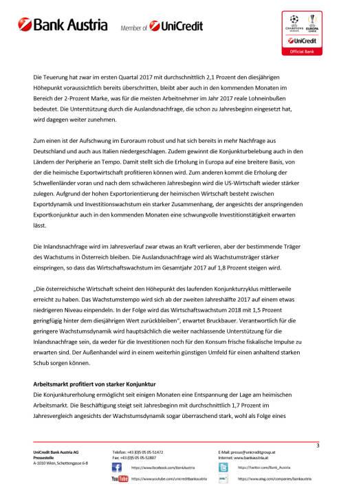 Mehr Rückenwind aus dem Ausland für Österreichs Wirtschaft Wien, 15. Mai 2017, Seite 3/5, komplettes Dokument unter http://boerse-social.com/static/uploads/file_2253_mehr_ruckenwind_aus_dem_ausland_fur_osterreichs_wirtschaft_wien_15_mai_2017.pdf