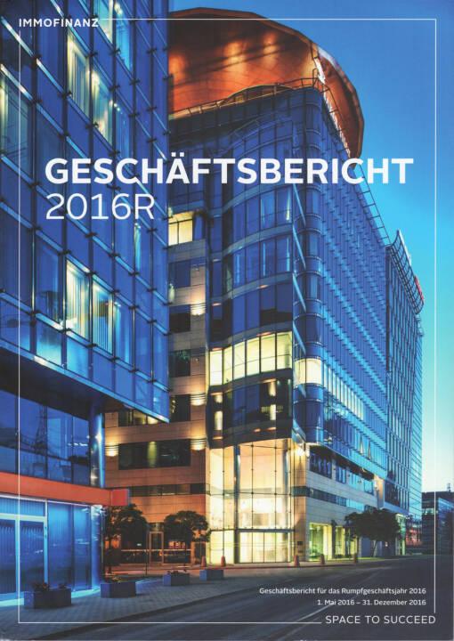 Immofinanz Geschäftsbericht 2016R - http://boerse-social.com/financebooks/show/immofinanz_geschaftsbericht_2016r