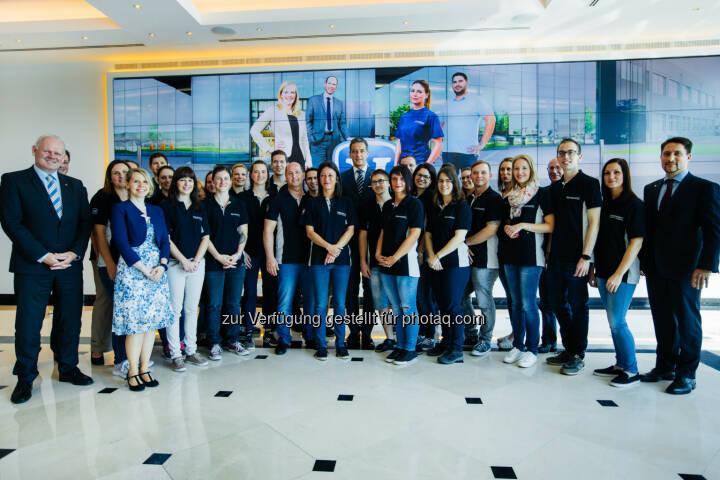 Novomatic startet Freiwilligeninitiative - Rund 30 Novomatic-Mitarbeiterinnen und Mitarbeiter nahmen an drei gemeinnützigen Projekten, die in Zusammenarbeit mit der Caritas der Erzdiözese Wien organisiert wurden, teil.  (Bild: David Faber)