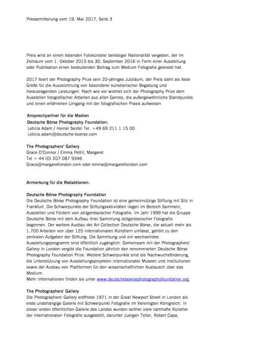 """Dana Lixenberg mit dem """"Deutsche Börse Photography Foundation Prize 2017"""" ausgezeichnet, Seite 3/4, komplettes Dokument unter http://boerse-social.com/static/uploads/file_2257_dana_lixenberg_mit_dem_deutsche_borse_photography_foundation_prize_2017_ausgezeichnet.pdf"""