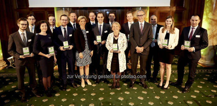 Zertifikate Award Austria 2017 - RCB-Team (Fotocredit: Zertifikate Forum Austria)