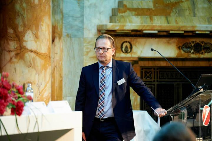 Markus Kaller (Erste Group) - Zertifikate Award Austria 2017 (Fotocredit: Zertifikate Forum Austria)