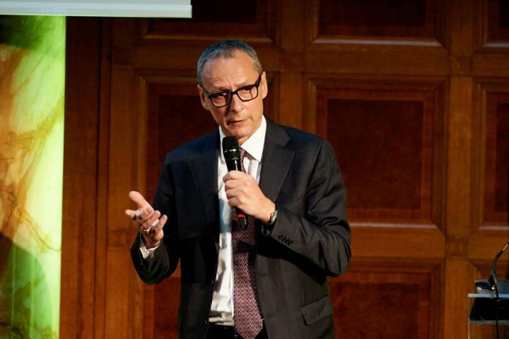 Wilhelm Celeda (Raiffeisen Centrobank) - Zertifikate Award Austria 2017 (Fotocredit: Zertifikate Forum Austria)