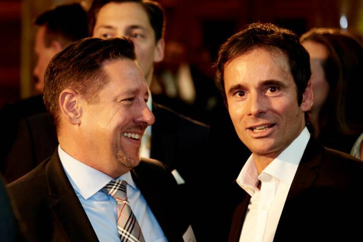 Robert Abend (BörseGo, rechts) - (Fotocredit: Zertifikate Forum Austria)