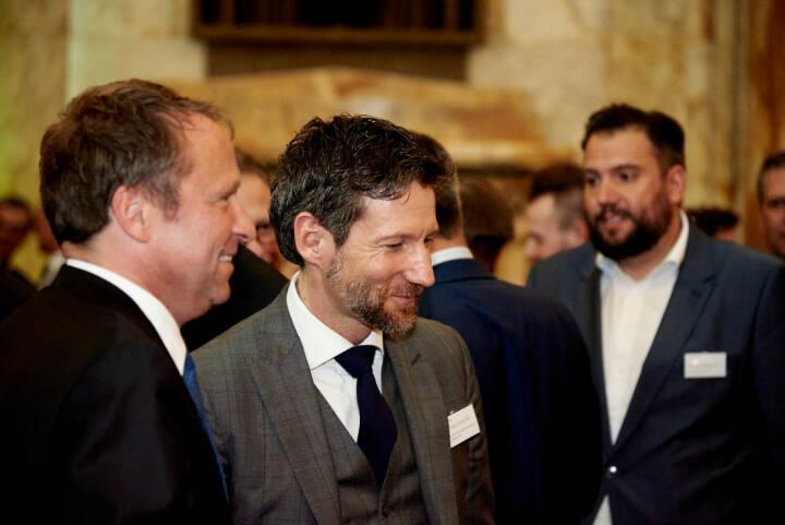 Frank Weingarts (UniCredit onemarkets), Thomas Schaufler (Erste Bank Österreich) - Zertifikate Award Austria 2017 (Fotocredit: Zertifikate Forum Austria)