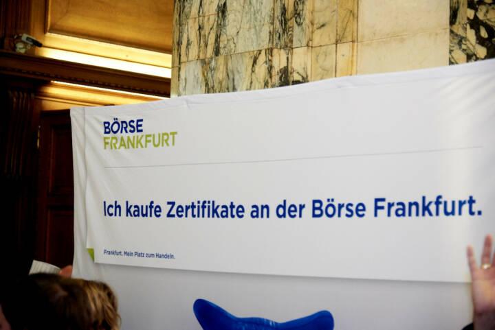 Börse Frankfurt - Ich kaufe Zertifikate