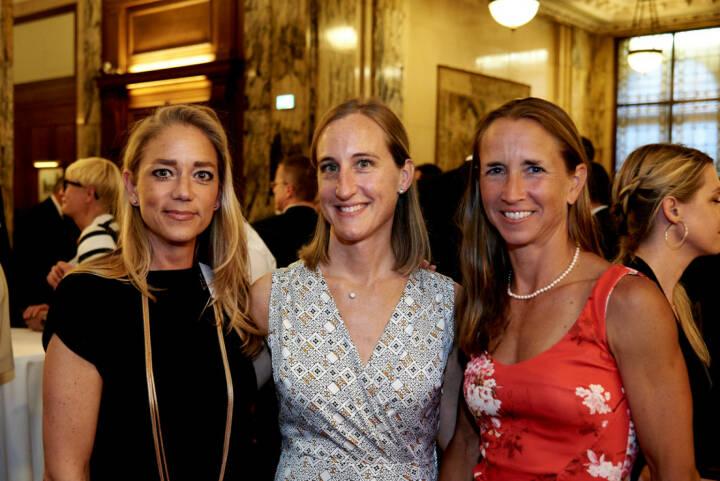 Elke Müller (Scholdan), Valerie Ferencic (ZFA), Martina Beran (ex-ZFA)