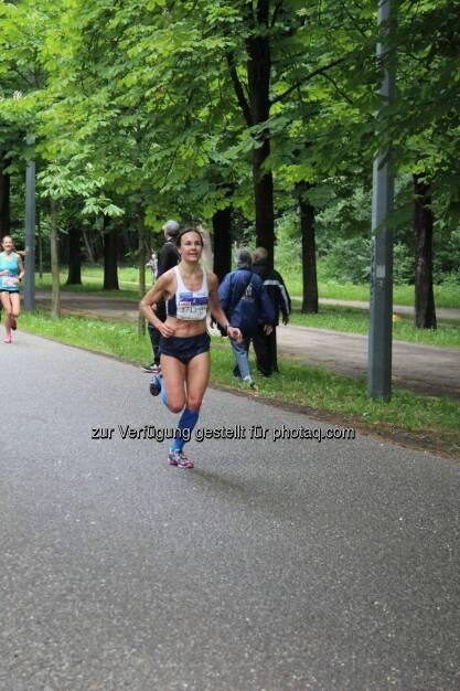 Carola Bendl-Tschiedel beim Frauenlauf (21.05.2017)