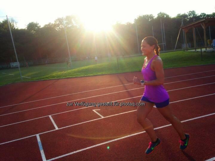 Monika Kalbacher, track and field, Tartanbahn, Leichtathletik