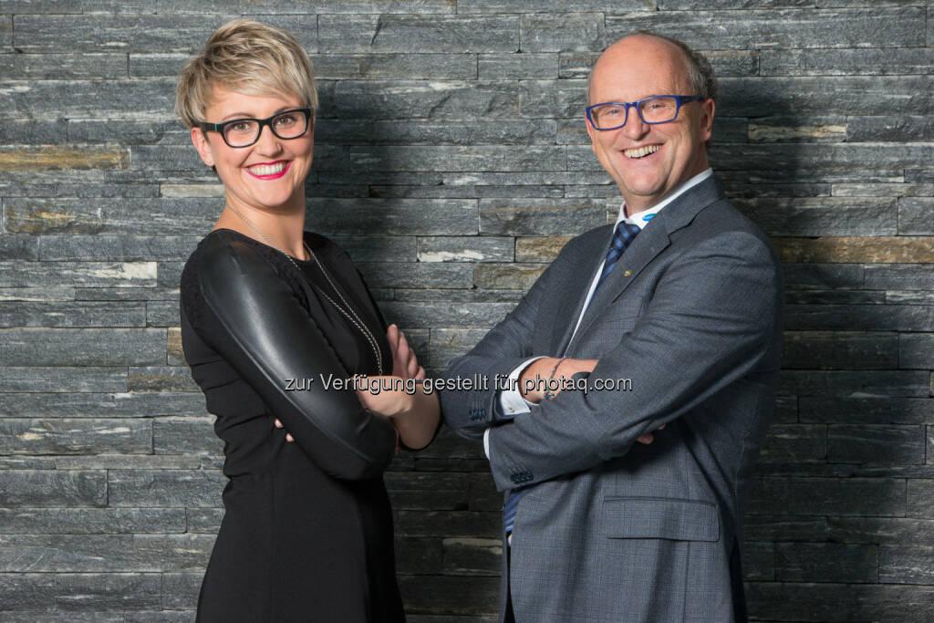Hans Georg und Katharina Hagleitner - Hagleitner Hygiene International GmbH: Das Familienunternehmen HAGLEITNER expandiert weiter und investiert in zwei neue Standorte. (Fotograf: Nikolaus Faistauer Photography / Fotocredit: HAGLEITNER)