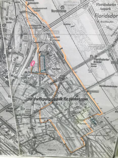 Map Brigittenauer Lauf - 10k  (25.05.2017)