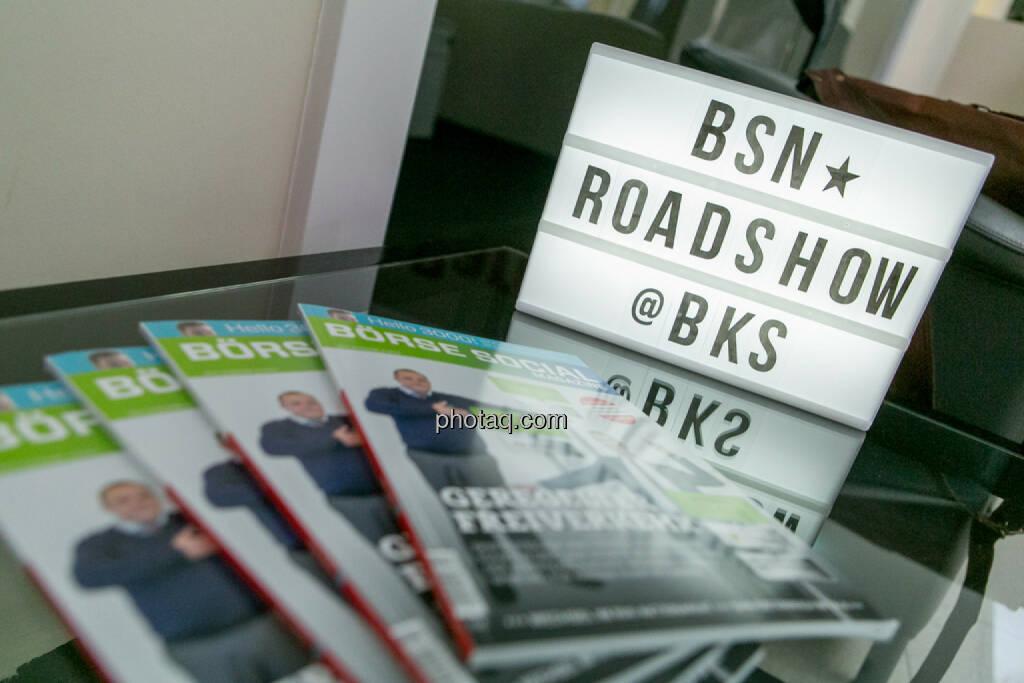 BSN Roadshow #70, © Martina Draper/photaq (29.05.2017)