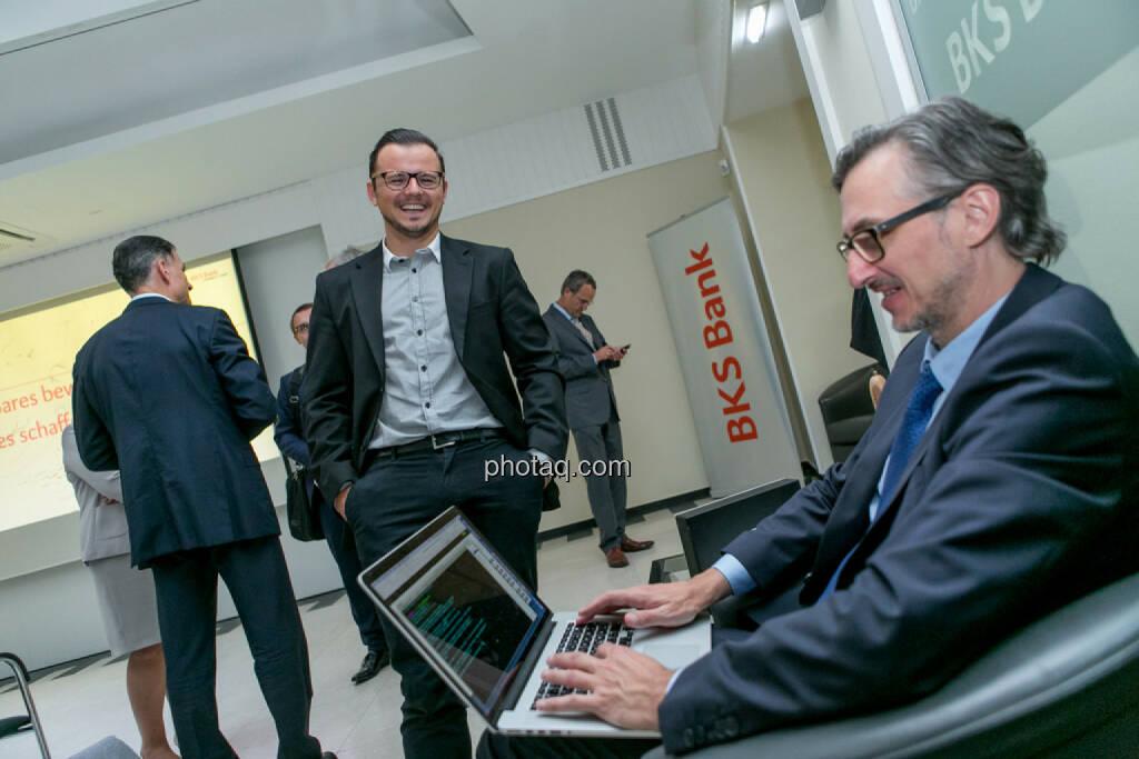 Michael Plos (BSN), Josef Chladek (BSN), © Martina Draper/photaq (29.05.2017)