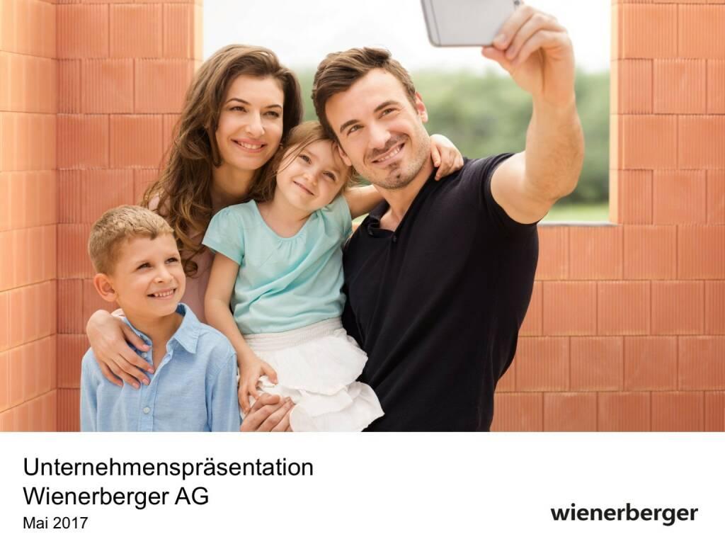 Präsentation Wienerberger (30.05.2017)