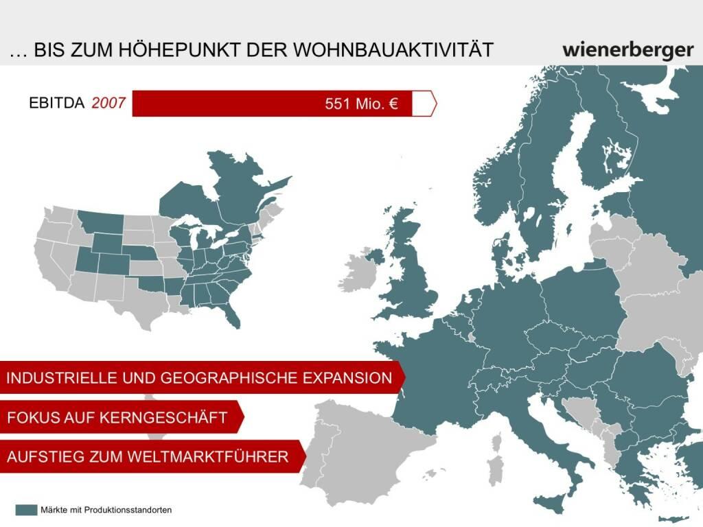 Wienerberger - Höhepunkt der Wohnbauaktivität (30.05.2017)