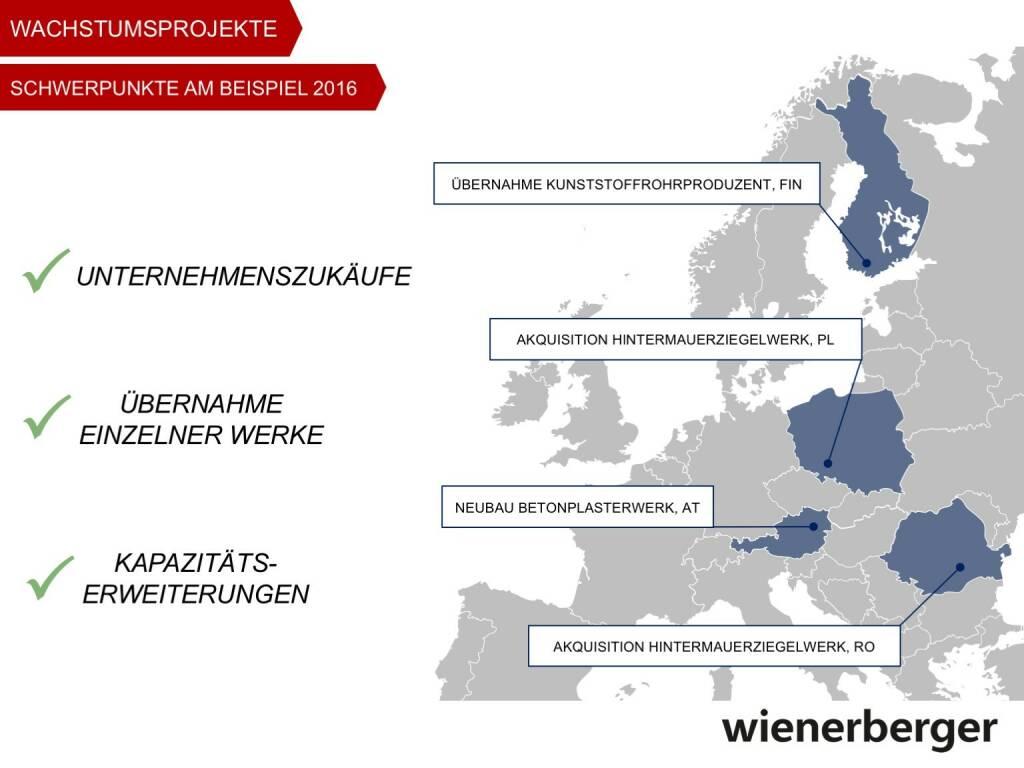 Wienerberger - Wachstumsprojekte (30.05.2017)