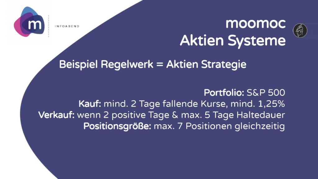 moomoc - Aktien Systeme (30.05.2017)