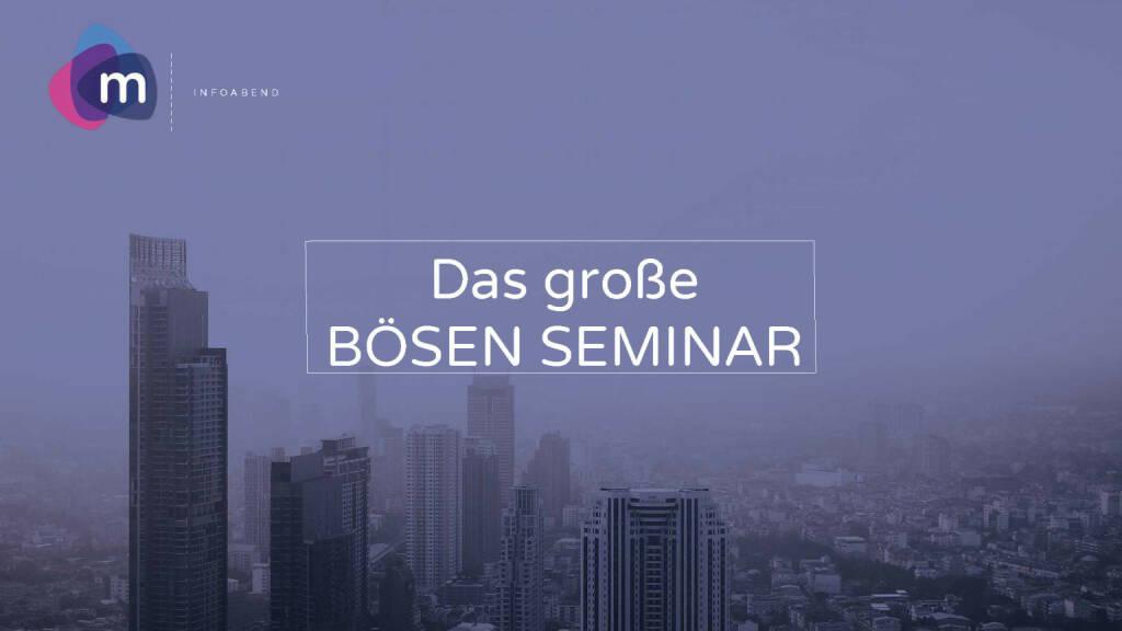 moomoc - Börsen Seminar (30.05.2017)